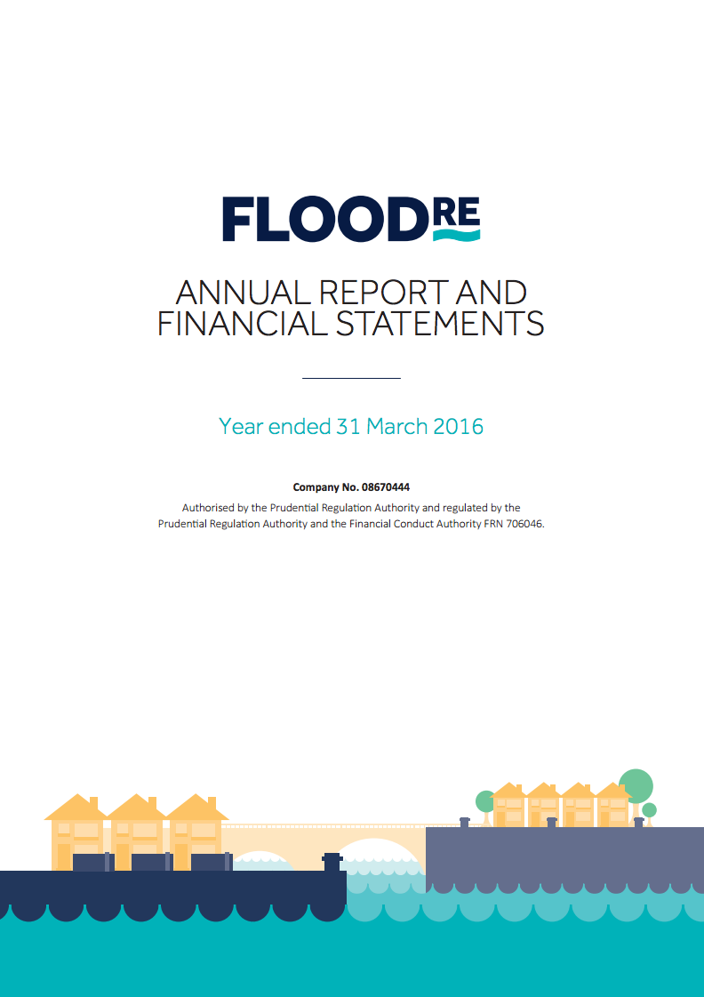 Flood Re Annual Report cover