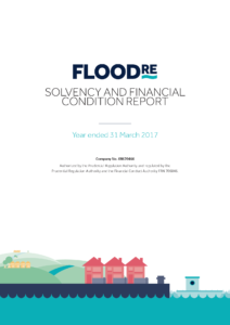 Solvency and Financial Condition Report cover